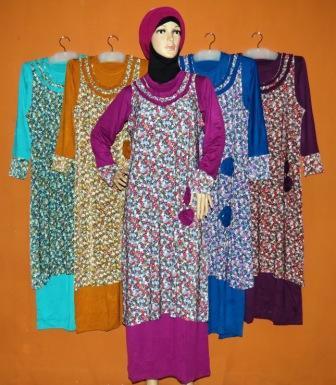 Gamis Muslimah Surabaya Gkm4547 Grosir Baju Muslim Murah