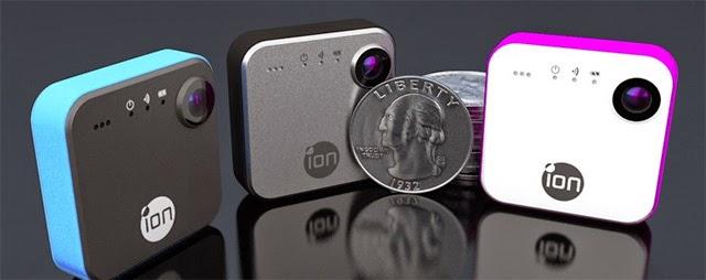 الحجم الصغير لكاميرا snapcam