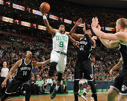 Rajon Rondo leads Celtics past Nets 91-84