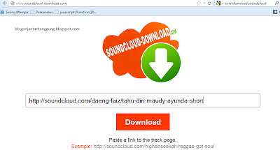 cara download soundcloud