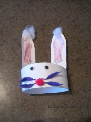 Easter Projects For Toddlers 3: Funny Bunny Hats 1