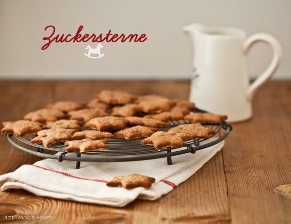 Zuckersterne Rezept Weihnachtsplätzchen