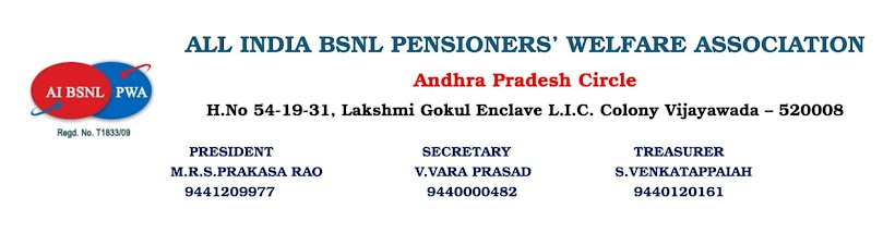 ALL INDIA BSNL PENSIONER'S WELFARE ASSOCIATION