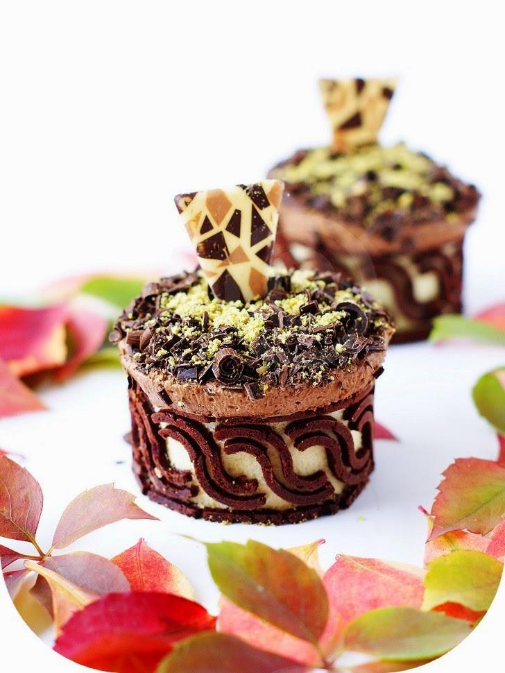 Mignardise chocolat Pistaches