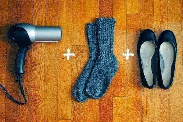 افضل طريقة لتوسيع الحذاء عليك