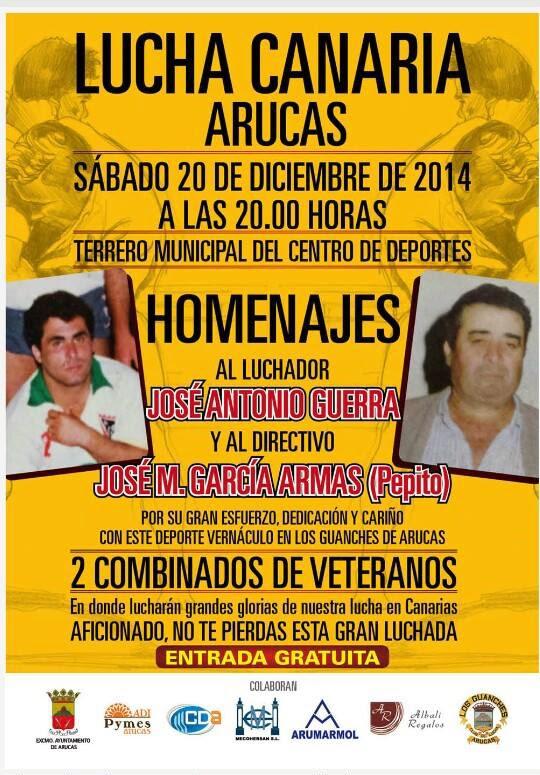 Lucha Canaria en Arucas, 20 diciembre
