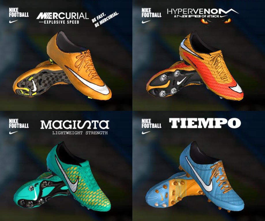 PES 2013 Nike Colorway II 14-15 Boots By.HendriSimZ