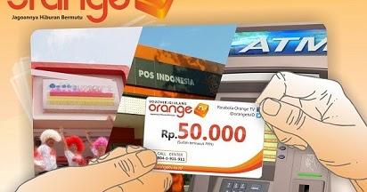 Cara Beli Voucher Orange TV dan Cara Mengaktifkan Paketnya