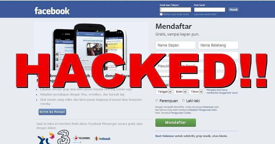 Teknik-Teknik Cara Nge-Hack Facebook Orang Lain - BISDERIAL