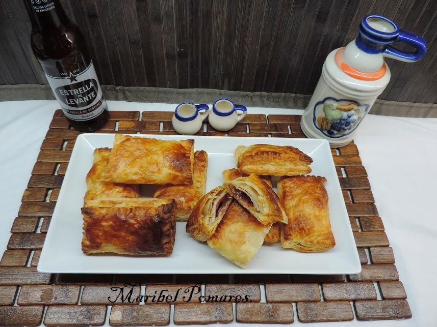 Napolitanas De Bacon Y Dátiles.