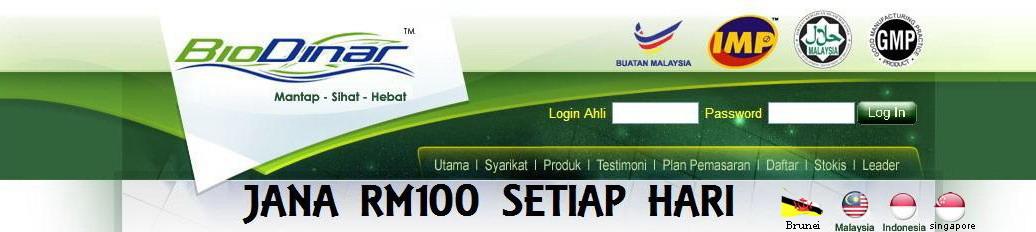 Jana RM100 Setiap Hari