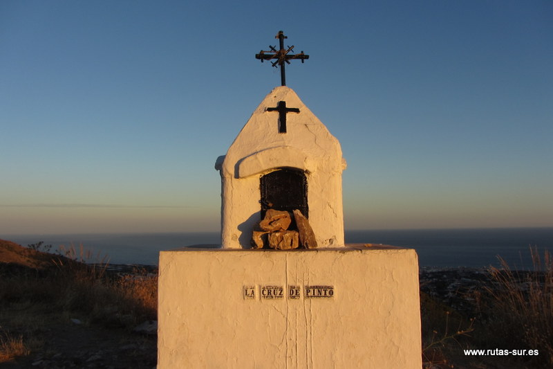 SIERRA ALMIJARA: Cruz de Pinto