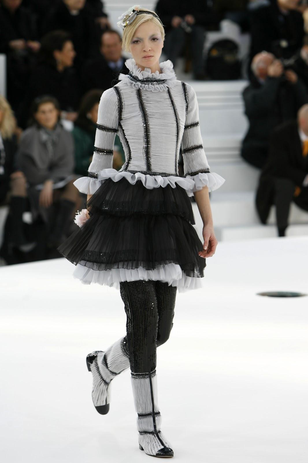 Modelle Italiane, Mariacarla Chanel Haute Couture Spring 20