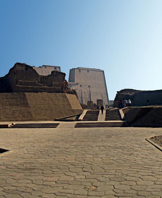 Edfu temple in Egypt