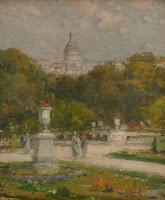 ELISEU MEIFREN Vista de París c. 1900