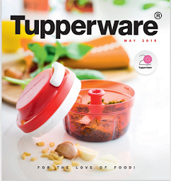 Tupperware  Standard Catalogue 2016