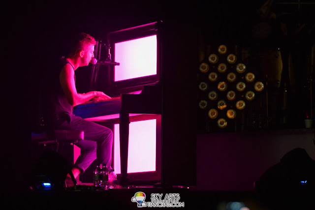 Ryan's freestyle mash up with his Piano - OneRepublic Native Live in Malaysia 2013
