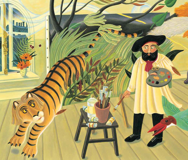 Creative Courage for Young Hearts 15 Emboldening Picture Books Celebrating the Lives of Great Artists, Writers, and Scientists - HENRI ROUSSEAU
