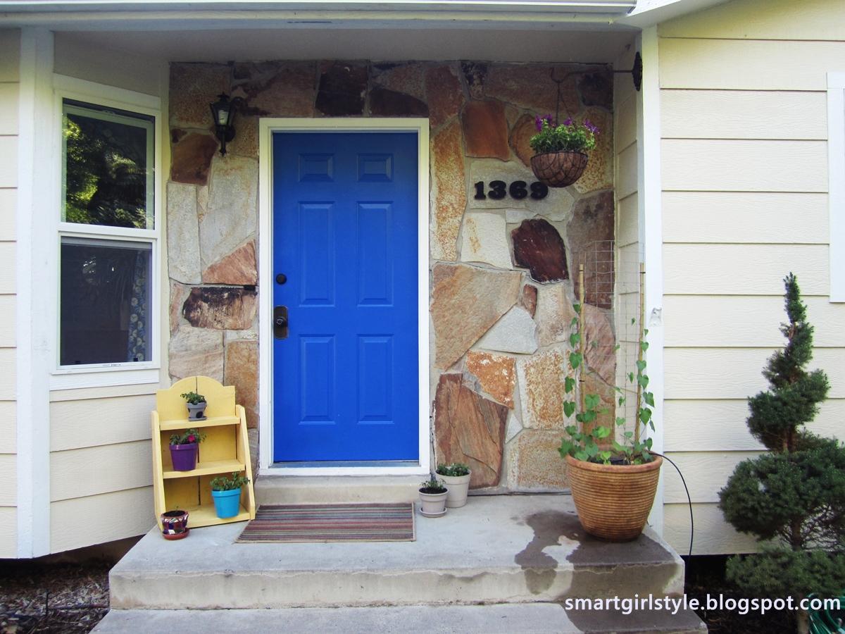 Blue Front Doors -
