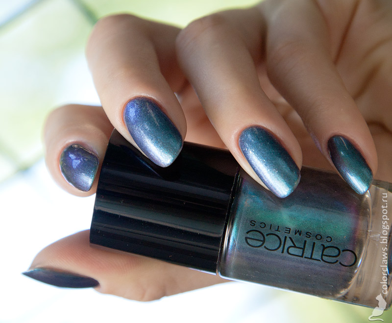 Catrice #55 Get the Blue + Orly Sapphire Luck (September)
