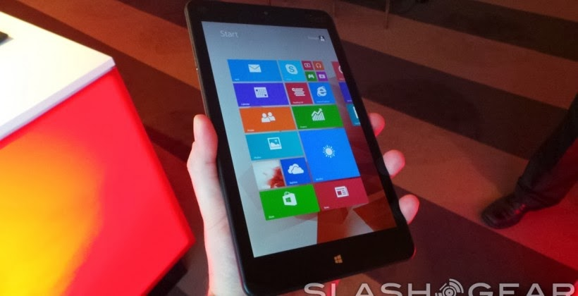 Lenovo's ThinkPad 8, hands-on with the 'full PC' in tablet form