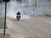 O agente Shayder em apoio a campanha contra a dengue
