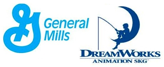 General Mills Dreamworks logo