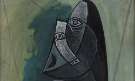 The Painting Space: Picasso painting \'Buste de Femme\' in Palestine