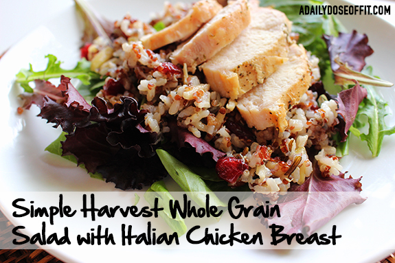 Betty Crocker, chicken recipe, whole grains, Suddenly Grain Salad, ad