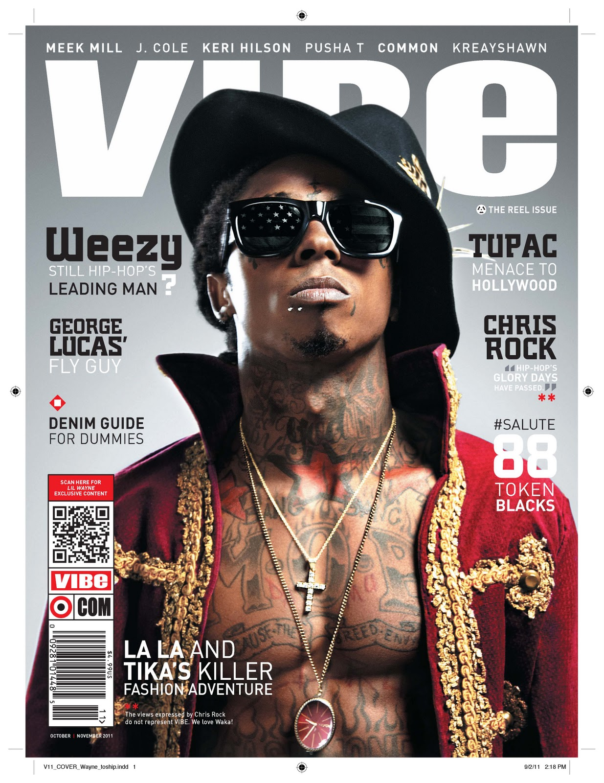 Lil Wayne covers this months