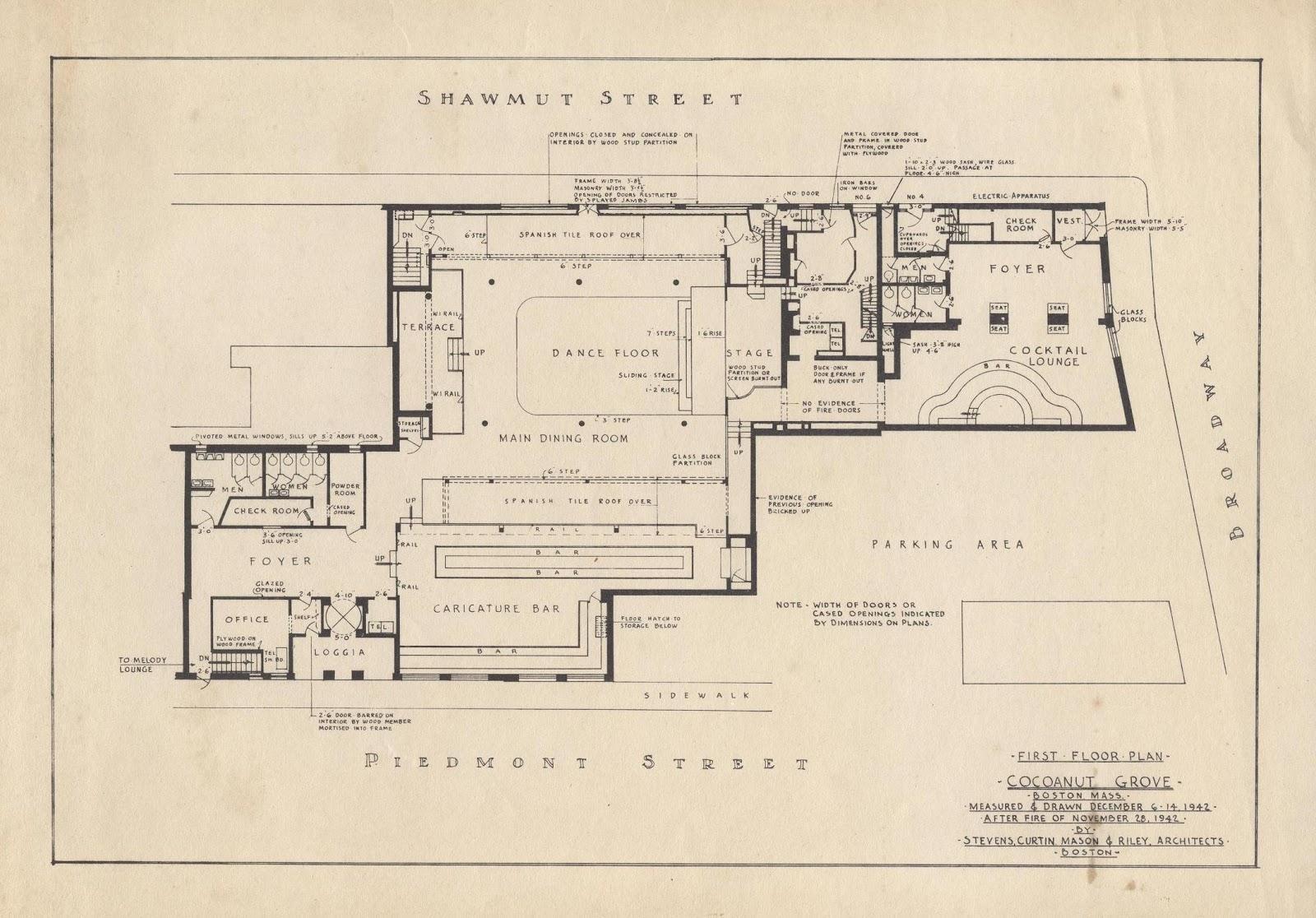 100 fire floor plan house floor plan sample plan for Nightclub floor plans