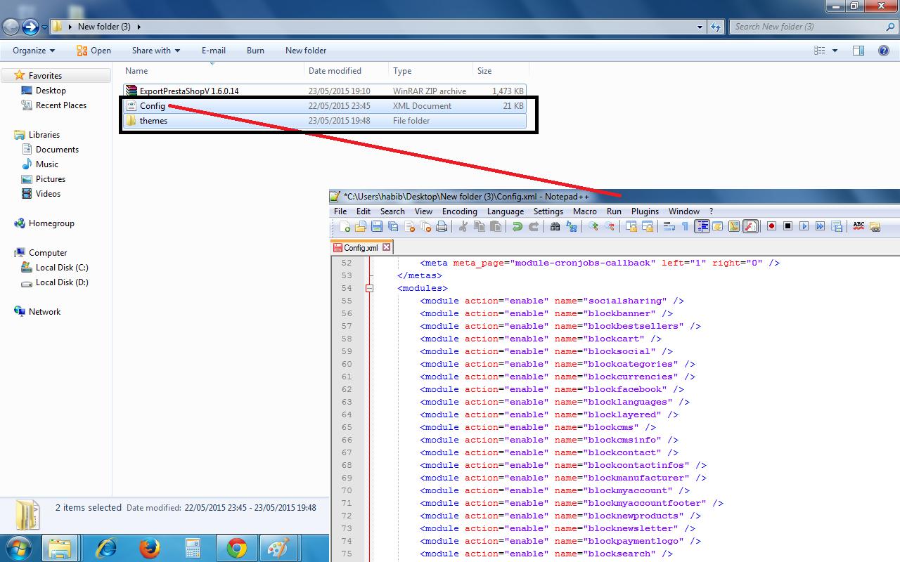 export presta theme v 1 6 0 14 hook xml file bolton college