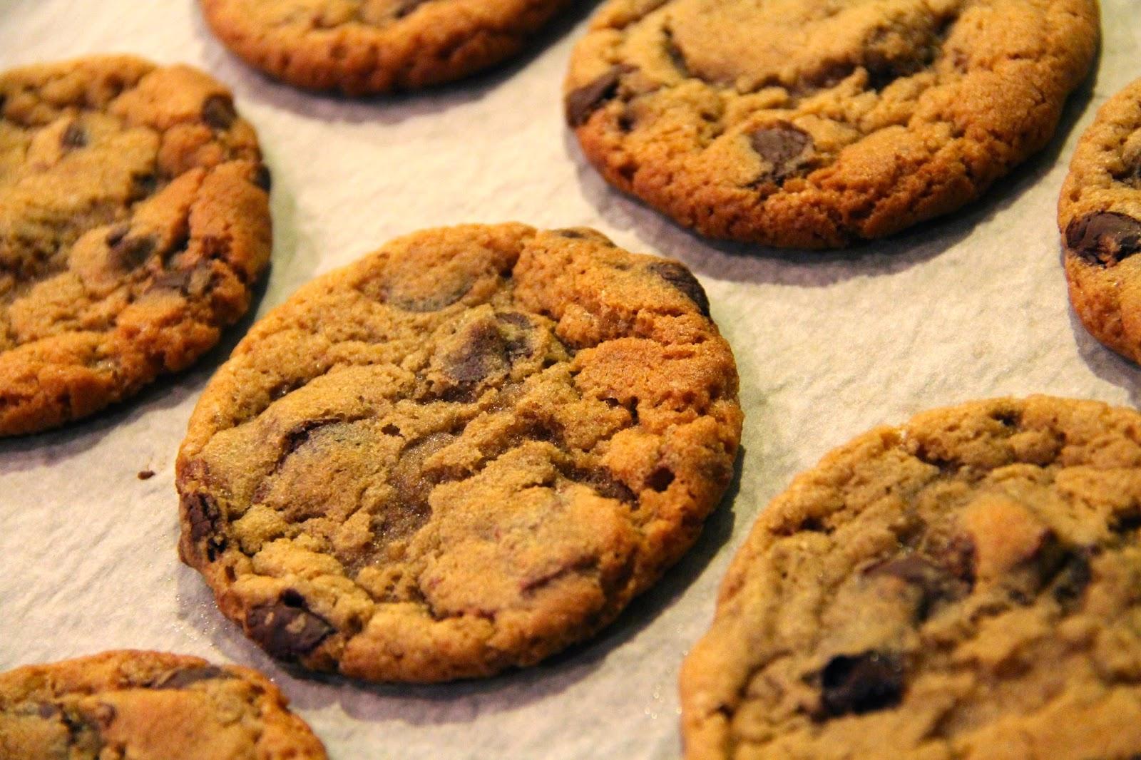 amerikanske cookies opskrift chokolade