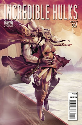Incredible Hulks Vol 1 627 Thor Goes Hollywood Variant The 72 Best Comic Book Covers of 2011