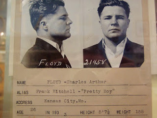Where Pretty Boy Floyd got the band name from - American bank robber
