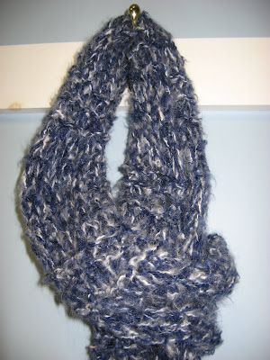 Divine Knitted Scarf ~ Quick, Easy, No Pattern!