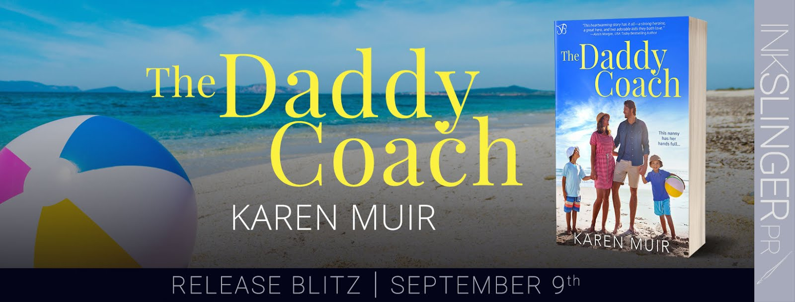 The Daddy Coach Release Blitz & Giveaway