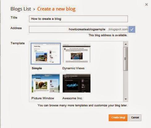 How to make a Blog with Blogger.com
