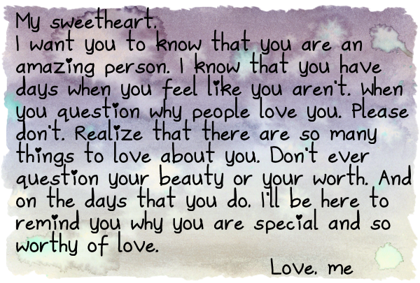 A Reminder That I Love You Quotes : love sharing notes of love with you and with everyone else as well ...