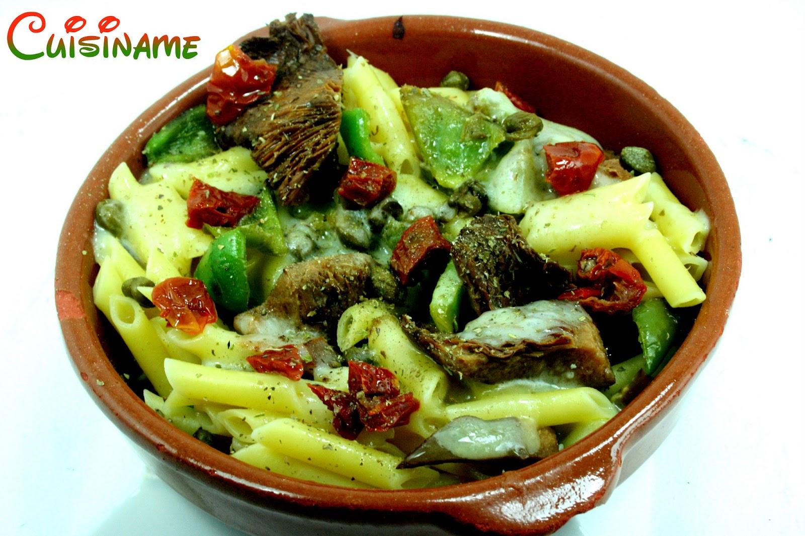 Recetas de cocina cuis name - Macarrones con verduras al horno ...