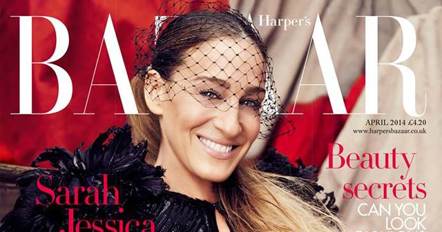 Sarah Jessica Parker wears Louis Vuitton for Harper's ...