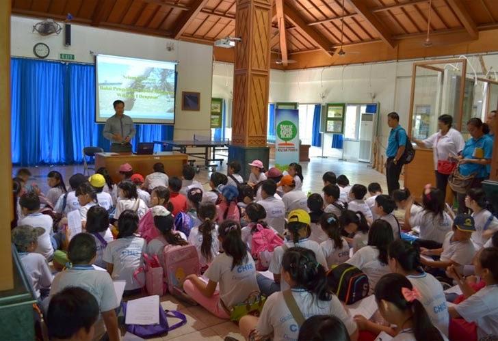 Kunjungan Sekolah CHIS Denpasar ke BPHM Wilayah I
