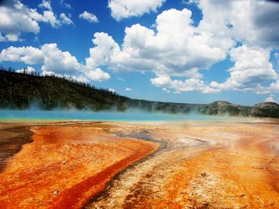 Fuente prismatica de Yellowstone - 1