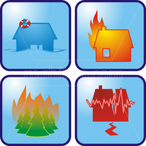 Images of Different Types of Disasters. Click to learn how to prepare...