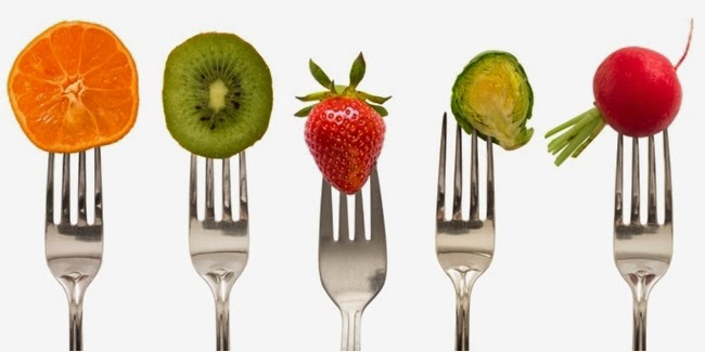 Why should lunch with fruit?