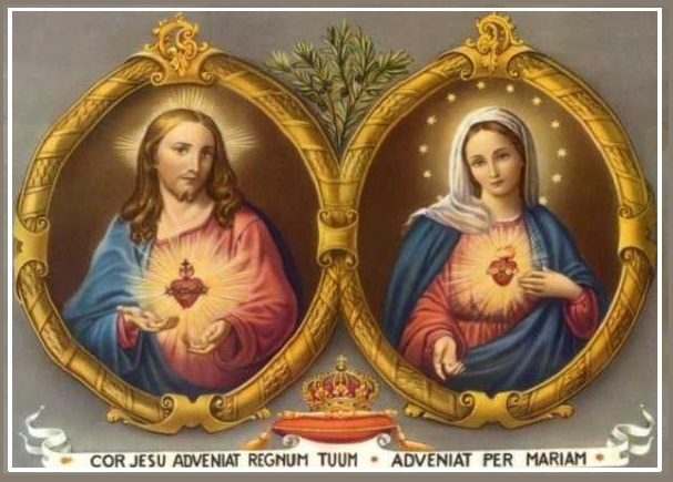 Sacred Heart of Jesus & Immaculate Heart of Mary