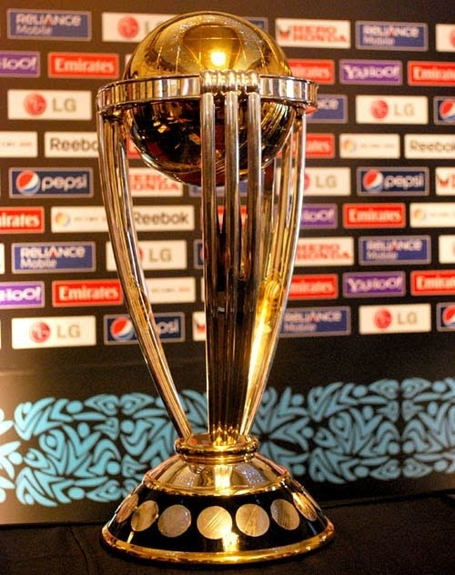 icc world cup cricket trophy. ICC World Cup 2011 Trophy
