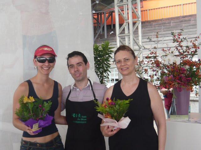 """Evento Circuito Vênus 2011, Sucesso Total 230 alunos , na """" Vivência com a Flor."""""""