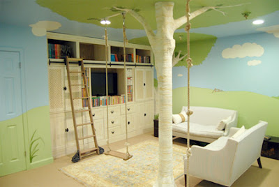 the incredible stuffs creative tree house bedroom for kids