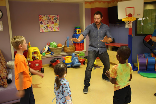 chris pratt childrens hospital